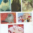 Отдается в дар Карманные календарики. Часть 2 — кошки