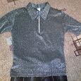 Отдается в дар блузка с люрексом