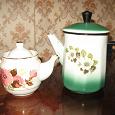 Отдается в дар Чайник заварочный и чайник эмалированный