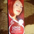 Отдается в дар краска для волос Londa Color оттенок 47 — огненно-красный