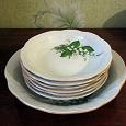 Отдается в дар Набор тарелок и бульонница