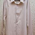 Отдается в дар Симпатичная мужская рубашка 50-52 размер