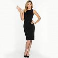 Отдается в дар Черное платье 42 размера.
