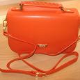 Отдается в дар Оранжевая сумка