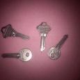Отдается в дар ключи, 4 шт