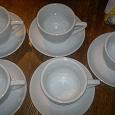 Отдается в дар Чашки с блюдцами для чая (на 5 персон)