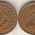 Отдается в дар Новая Зеландия.1 цент 1967г.(две монетки)