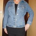 Отдается в дар Куртка женская джинсовая