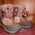 Отдается в дар Зимние ботинки для девочки.