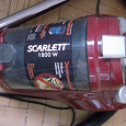 Отдается в дар Пылесос SCARLETT 1800W