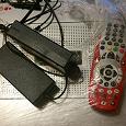 Отдается в дар Акадо телевидении ресивер+пуль+зарядка
