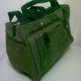 Отдается в дар сумка небольшая зеленая