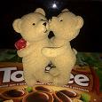 Отдается в дар статуэтка «влюбленные мишки»