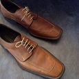 Отдается в дар Ботинки мужские светло коричневые 42 размер