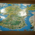 Отдается в дар туристическая карта Крыма