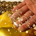Отдается в дар пакетики подарочные прозрачно-золотые
