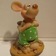 Отдается в дар Сувенирная статуэтка мышки