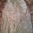 Отдается в дар юбка 46-48р.под голубую змеиную кожу