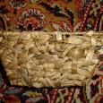 Отдается в дар корзинка плетеная