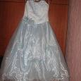 Отдается в дар Платье красивое для девочки 8-9лет