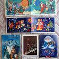 Отдается в дар Советские новогодние открытки.