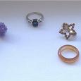 Отдается в дар Бижутерия и кольцо из селенита.