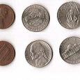 Отдается в дар США 1 и 5 центов(2юб.)