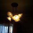 Отдается в дар Красивая люстра на 6 ламп