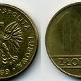 Отдается в дар Монеты Польши(для одного)