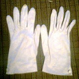 Отдается в дар перчатки летние