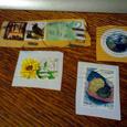 Отдается в дар марки с разных стран мира (гашеные)