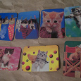 Отдается в дар Календарики с кошками за 1999г.