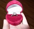Отдается в дар серебряное кольцо с топазом