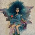 Отдается в дар Сувенирная кукла. Фея или бабочка.