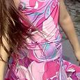 Отдается в дар платье летнее 128-140см