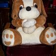 Отдается в дар Большая плюшевая собака мягкая игрушка
