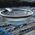 Отдается в дар Пепельница антикварная (серебро)