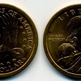 Отдается в дар Монета США доллар Сакагавеа