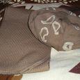 Отдается в дар Комплект «шапка+шарф»
