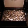 Отдается в дар Коробочка с монетами (Новосибирская)