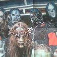 Отдается в дар Постер с группой Slipknot