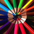 Отдается в дар Набор цветных карандашей, 18 штук