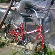 Отдается в дар красный велосипед двухколёсный