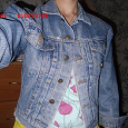Отдается в дар Куртка джинсовая передар kulema