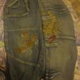 Отдается в дар Детские джинсы на 8-9 лет