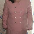 Отдается в дар женские рубашки для офиса и розовый костюм. большой размер