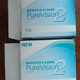 Отдается в дар Линзы PureVision2HD