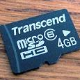 Отдается в дар Карта памяти MicroSD 4Gb (неисправная)