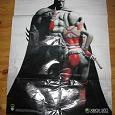 Отдается в дар Плакат-постер огромный с Бетменом