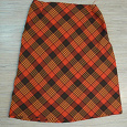 Отдается в дар Недошитая юбка или ткань-шотландка на ХМ